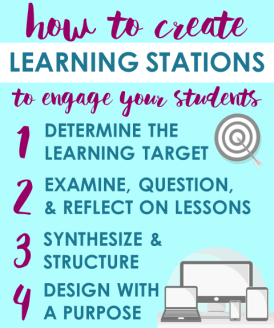 How to create learning stations